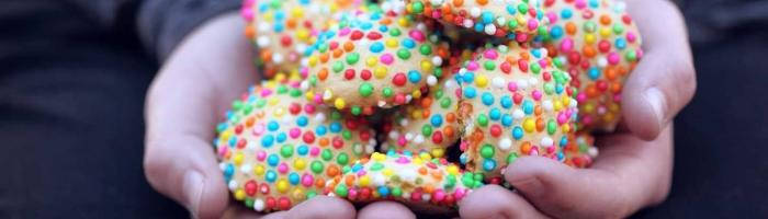sugar sprinkle cookies